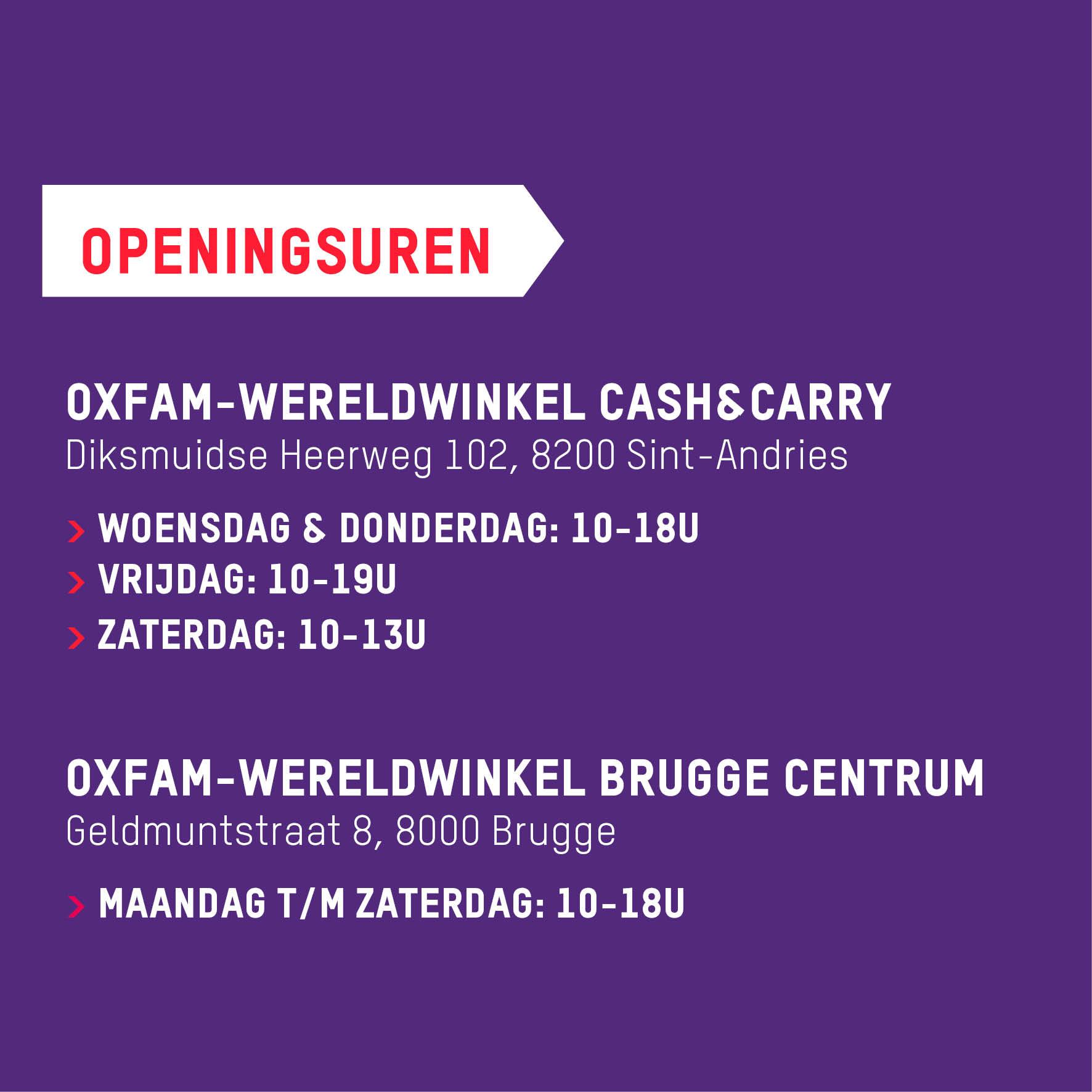 Openingsuren Brugge